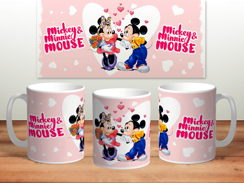 Кружка Minnie and Mickey Mause Арт: кр-047