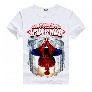Белая футболка для мальчика Siderman