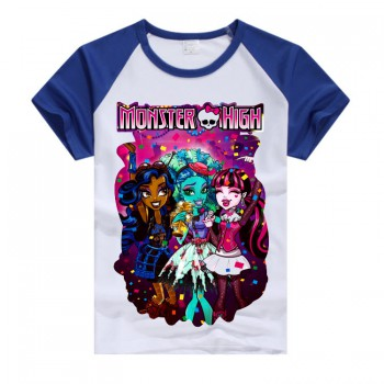 Синяя футболка Monster High