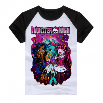 Черная футболка Monster High
