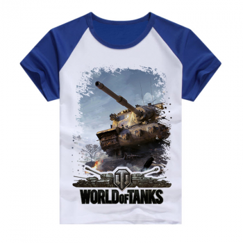 Синяя футболка World of tanks