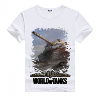 Белая футболка World of tanks